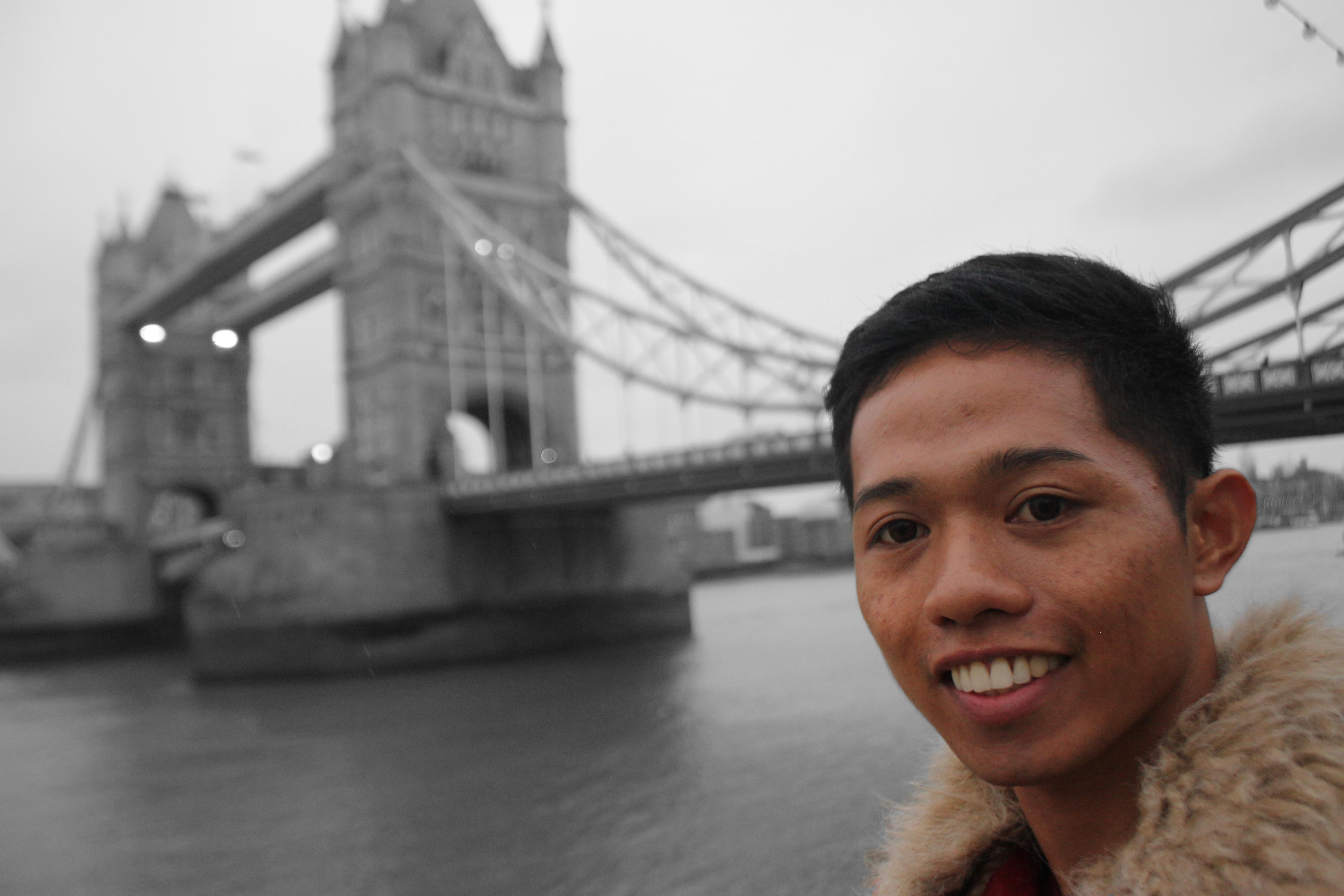 Me in Tower Bridge London